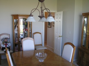 (1) Dining room before