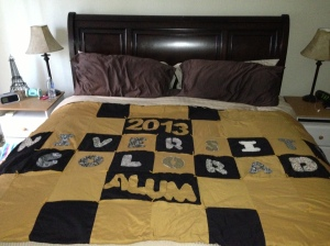 University of Colorado quilt
